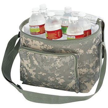 Digital Camo Heavy-Duty Cooler Bag