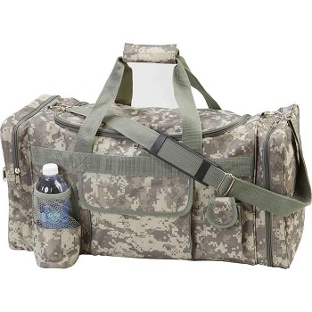"Camo Water Resistant 22-1/2"" Tote Bag"
