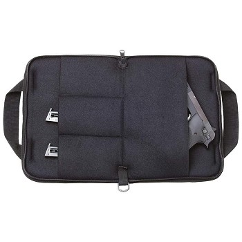 Zippered Pistol Rug Gun Case with Handles
