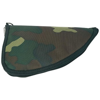 Camo Pistol Rug Gun Case with Zipper